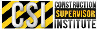 CSI - Construction Supervisor Institute